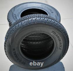 Tire Transeagle II Steel Belted ST 225/75R15 Load E 10 Ply Heavy Duty Trailer