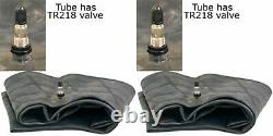 Two 11.2-38 11.2 R38 12.4-38 12.4r38 Tr218 Heavy Duty Tire Inner Tube