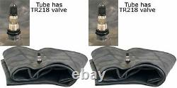 Two New 13.6/14.9-24 13.6-24 14.9r24 Heavy Duty Tractor Tire Tubes Tr218