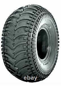 Two New 22x11.00-8 Deestone D930 Stryker ATV Wooly Booger Tires Heavy Duty 4 Ply