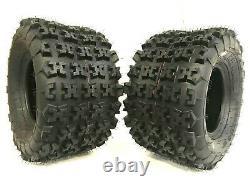 Two New 22x11-9 ATV Tires 22x11x9 Race Tubeless 6 PR K9 CL3 Heavy Duty Free Ship