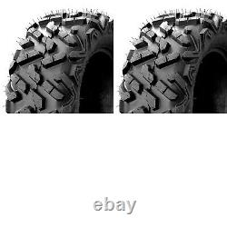 Two New UTV ATV Tires AT 27x9-14 27x9x14 K9 Heeler 6 Ply Heavy Duty