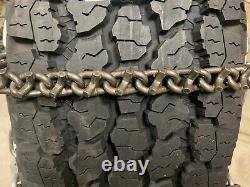 USA 6MM V-Bar Heavy Duty Chains LT265/70R18 LT265/60R20