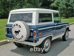 USA SpareCover Hybrid Series FORD BRONCO 31 WHITE Heavy Duty Vinyl Tire Cover