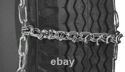 USA V-BAR Hvy Duty 6mm Truck Tire Chains 6.50-16 7.00-16 8-17.5 and MORE 19