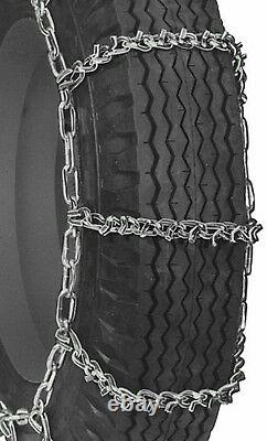 USAV-BAR Hvy Duty 6mm Truck Tire Snow Chains 6.50-16 7.00-16 8-17.5 and MORE 9