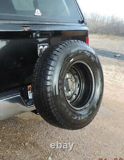 Universal Heavy Duty Receiver Hitch Spare Tire Mount U-4100