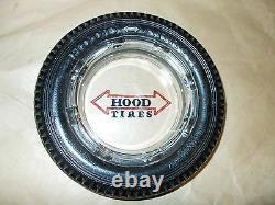 Vintage Hood Arrow Heavy Duty 6 Ply Advertising Tire Ashtray Rare HTF